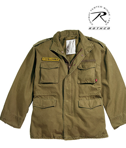 ULTRA FORCE® RUSSETT VINTAGE M-65 FIELD JACKET