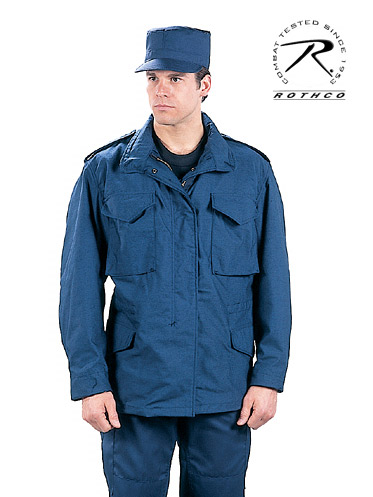 ULTRA FORCE NAVY BLUE M-65 FIELD JACKET